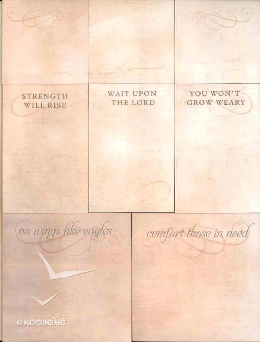 Sticky Note Set Lyrics For Life: Graceful Melody Stationery