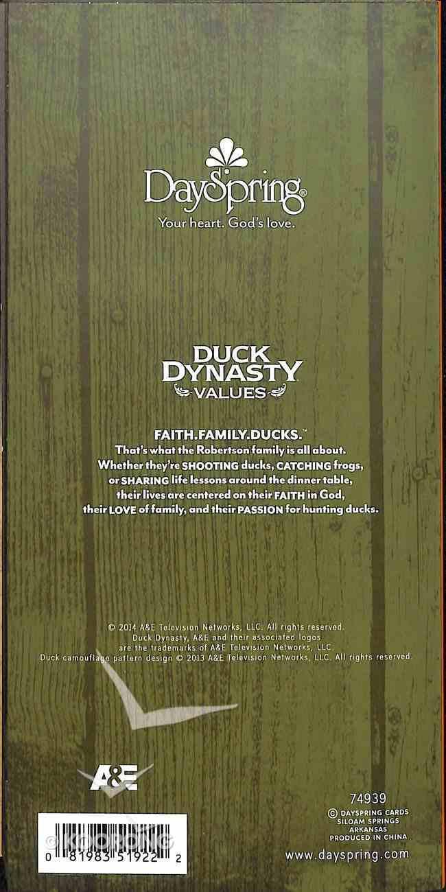Memofolio: Duck Dynasty, Isaiah 40:29 Stationery
