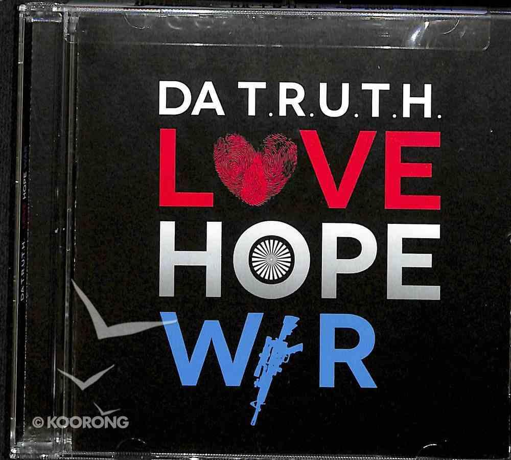 Love Hope War CD