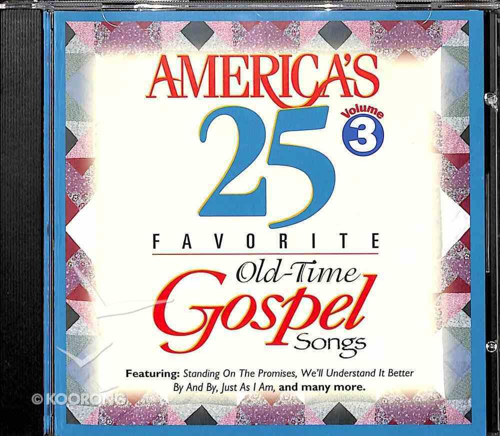 Americas 25 Favorite Gospel 3 CD