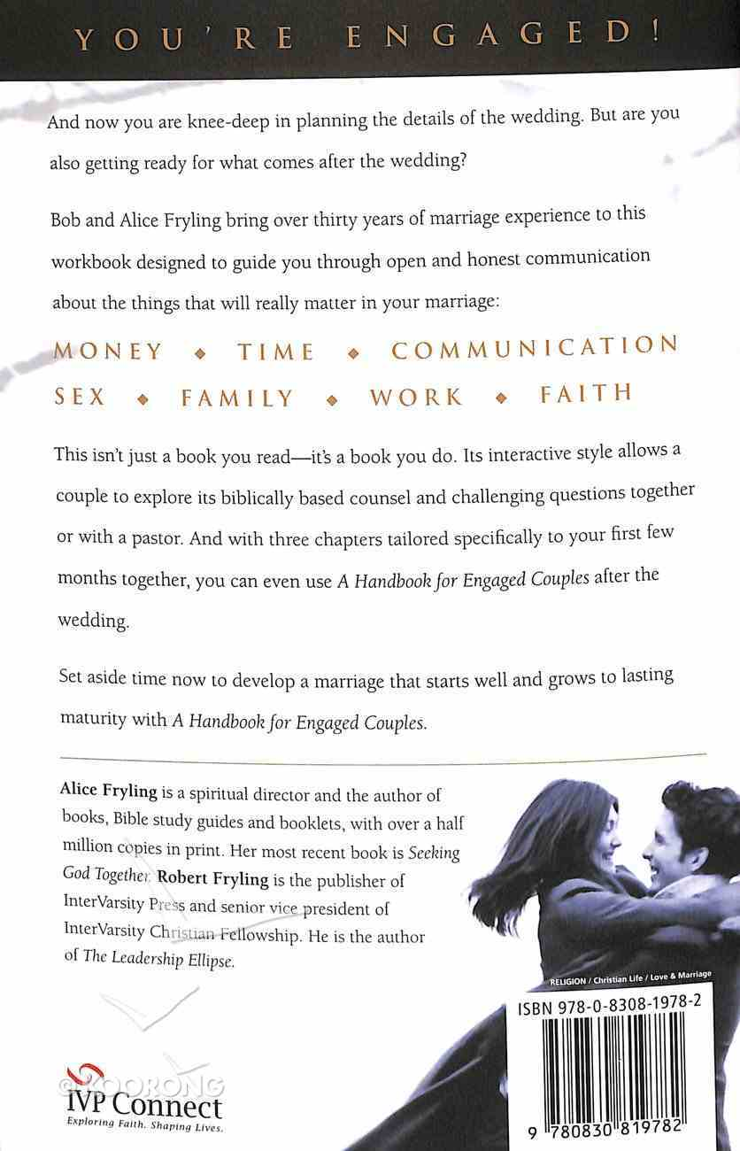 A Handbook For Engaged Couples Paperback