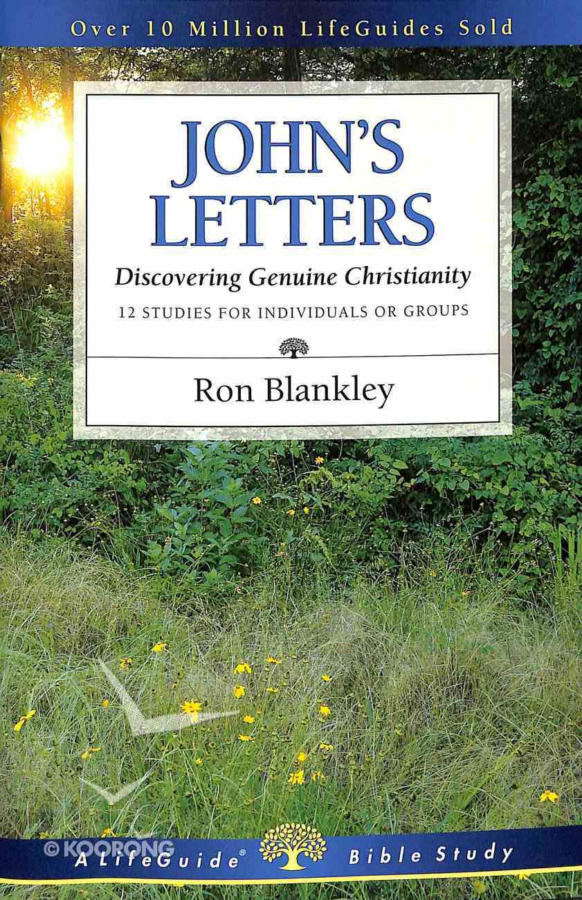 John's Letters (Lifeguide Bible Study Series) Paperback