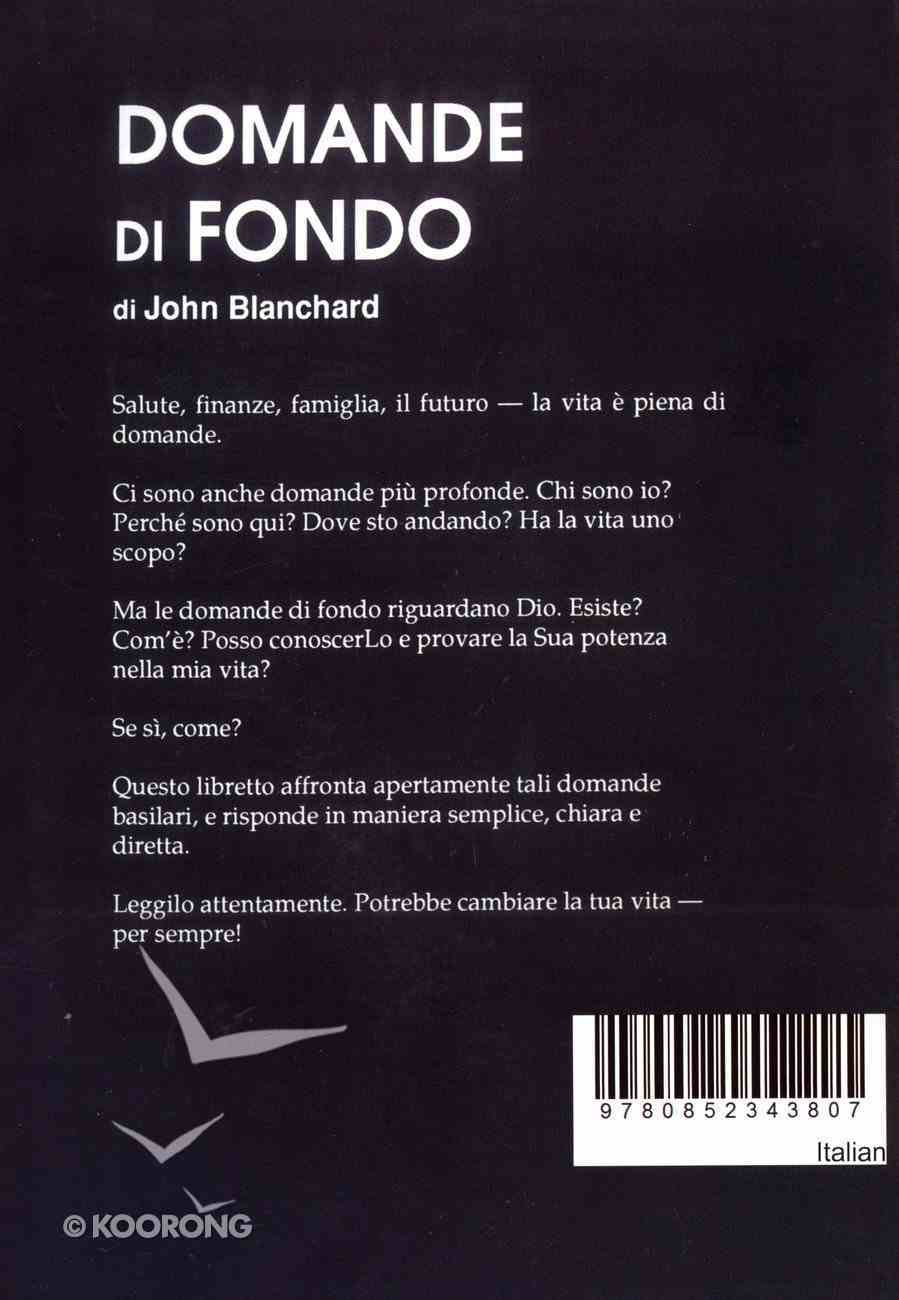 Ultimate Questions (Italian) Booklet