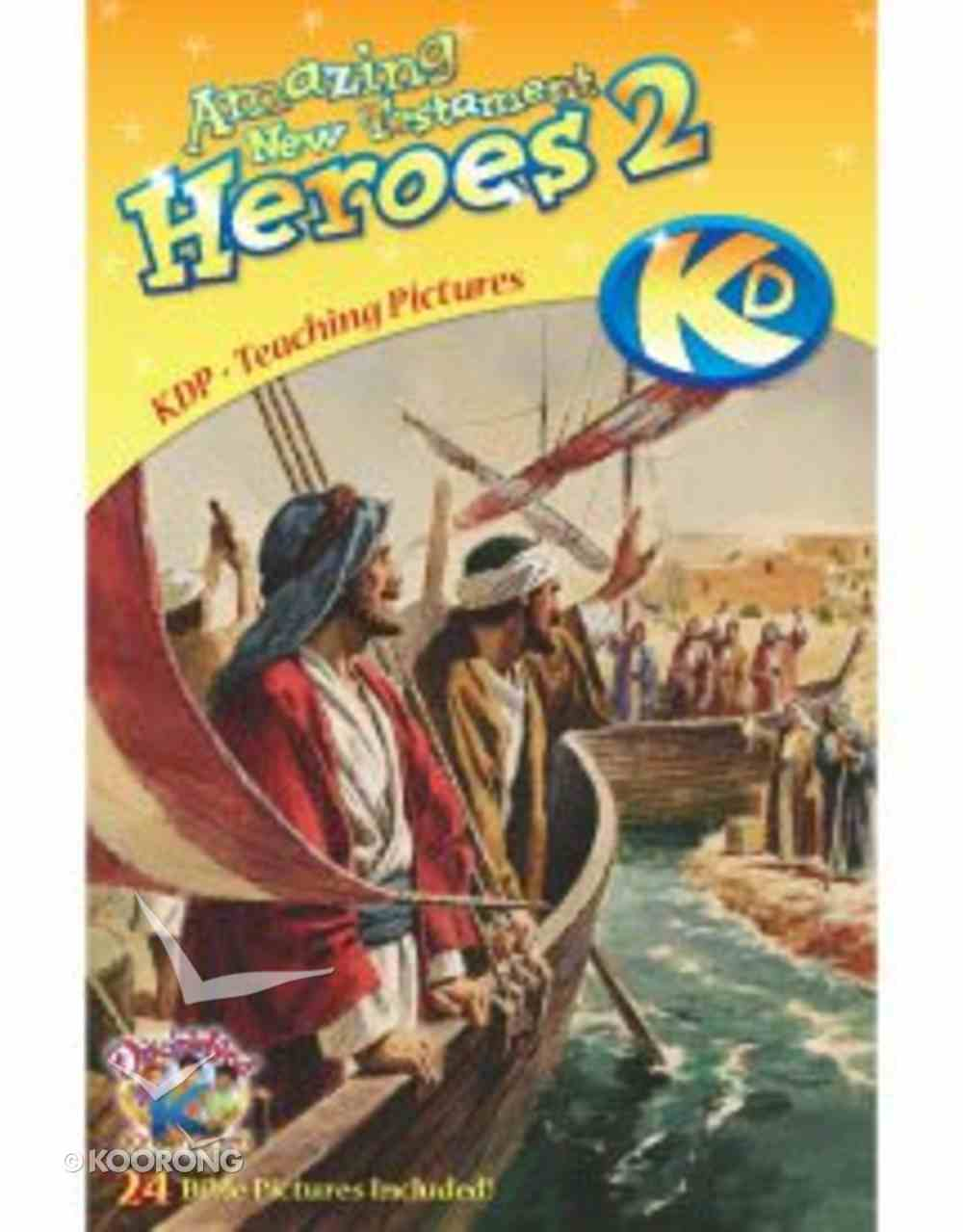 Dlc C5: Following the Faithful Teaching Pictures Ages 10-13 (New Testament Heroes) (Discipleland Level 5, Ages 10-12, Qtrs Abcd Series) Paperback
