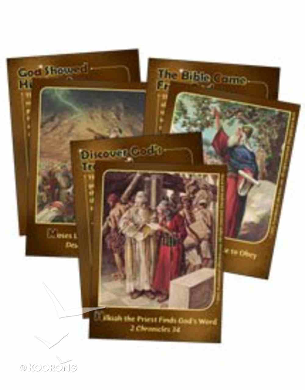 Dlc A2: How We Got the Bible Ages 7-9 (Bible Cards) (Discipleland Level 2, Ages 7-9, Qtrs Abcd Series) Pack