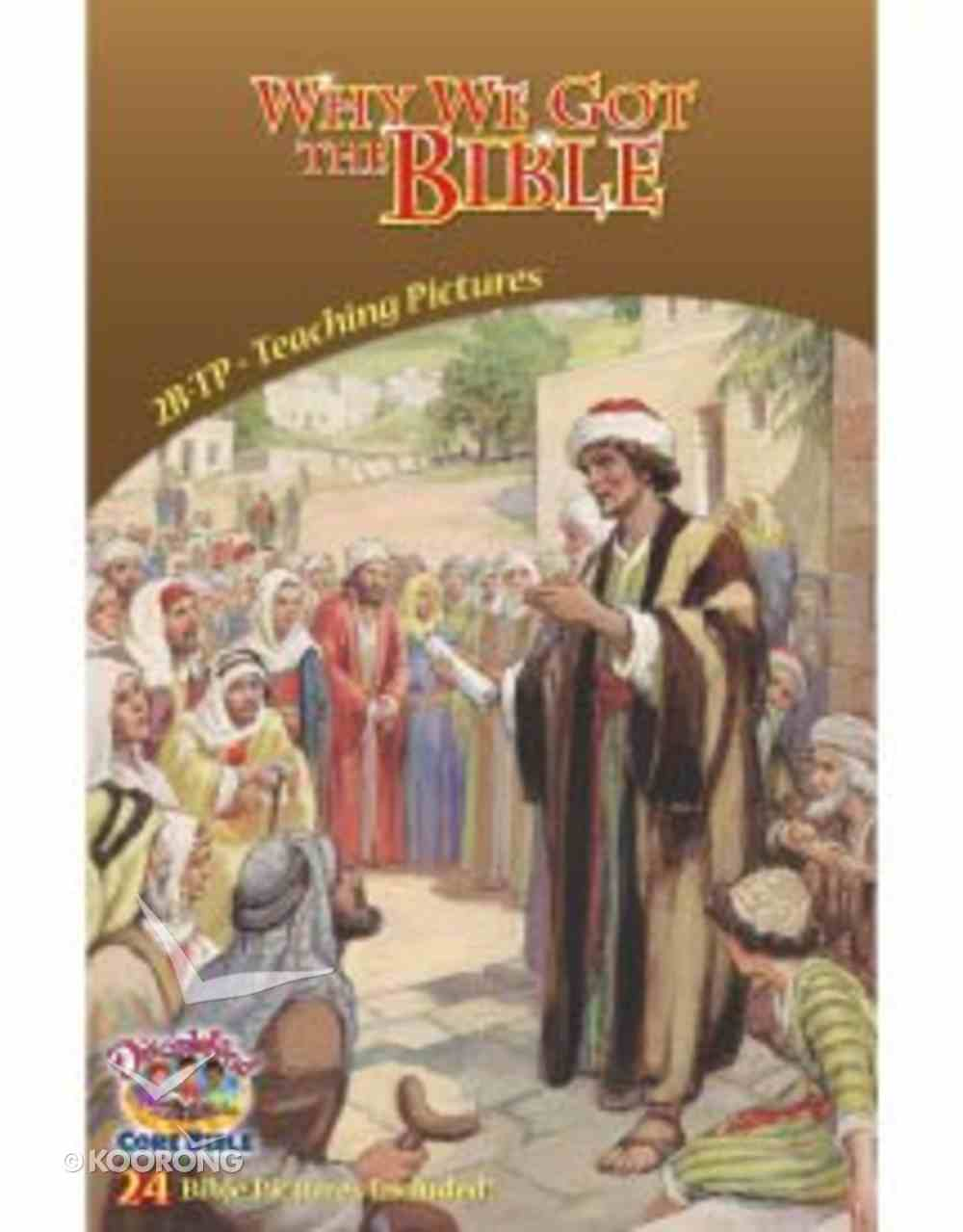 Dlc B2: Why We Got the Bible Teaching Pictures Ages 7-9 (Discipleland Level 2, Ages 7-9, Qtrs Abcd Series) Pack
