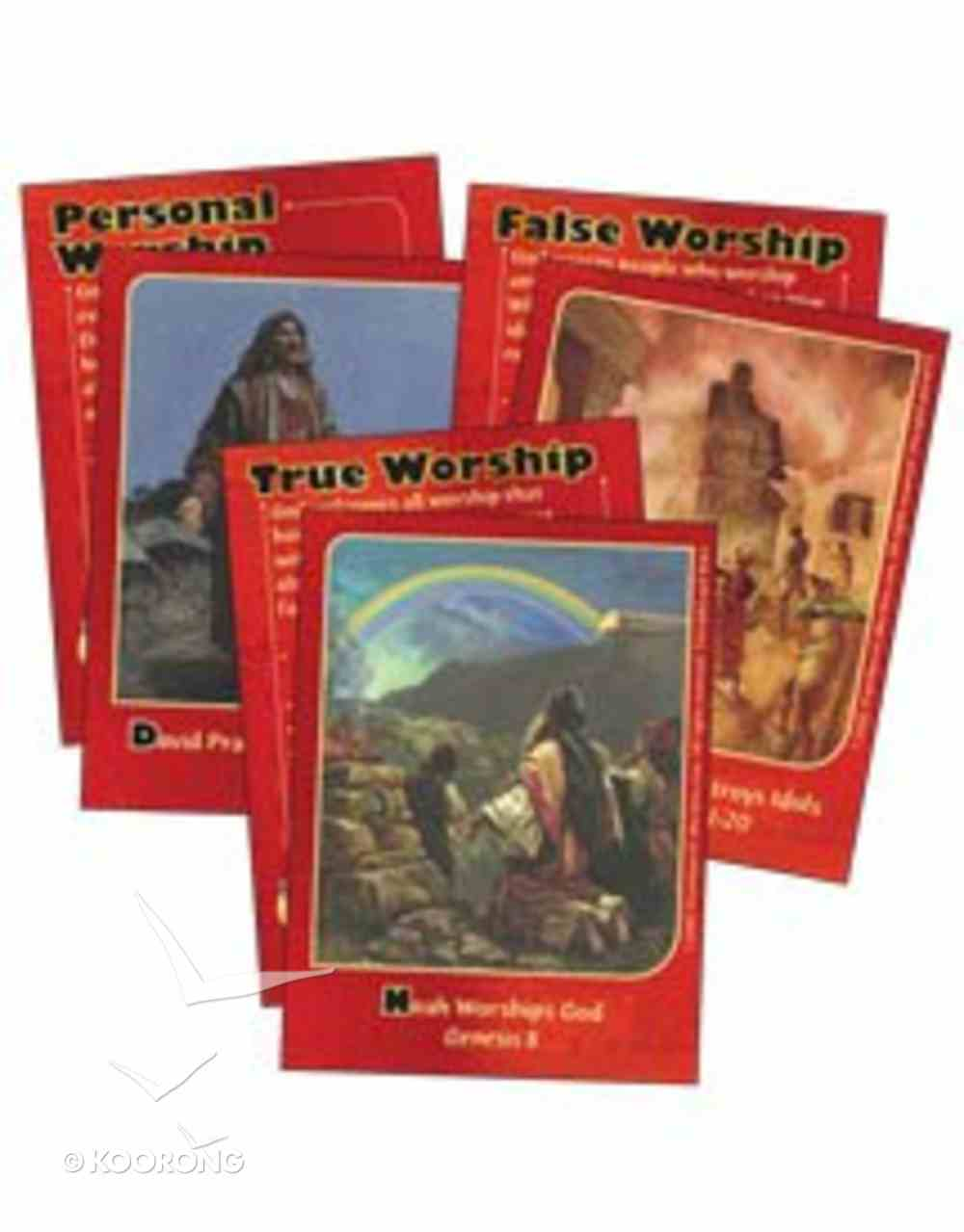 Dlc C1: Discovering God's Greatness Bible Cards Ages 6-8 (At Worship With God (Discipleland Level 1, Ages 6-8, Qtrs Abcd Series) Pack