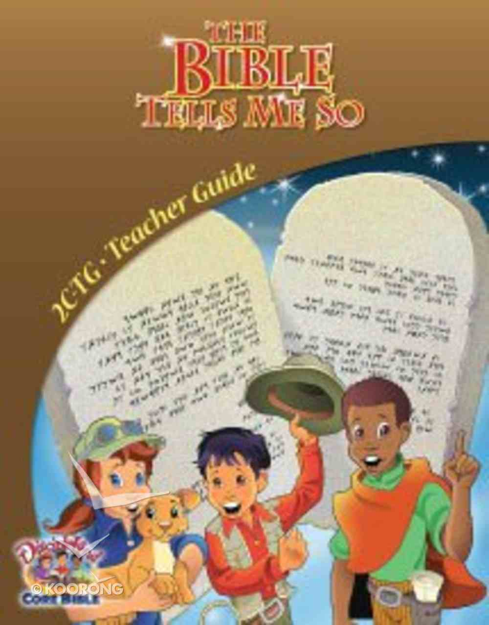 Dlc C2: Treasuring the Bible Teacher's Guide Ages 7-9 (The Bible Tells Me So) (Discipleland Level 2, Ages 7-9, Qtrs Abcd Series) Paperback