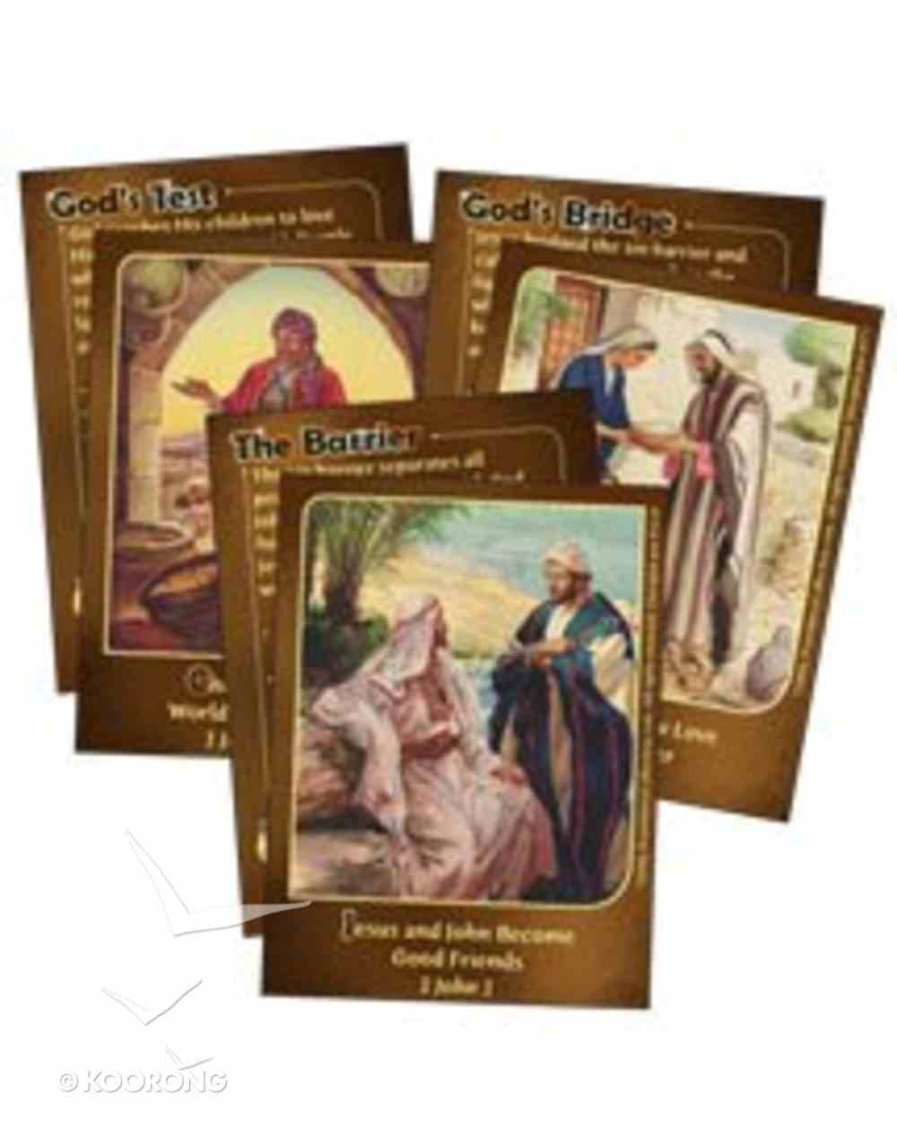 Dlc D2: Treasuring the Bible Bible Cards Ages 7-9 (The Bible Guides My Life) (Discipleland Level 2, Ages 7-9, Qtrs Abcd Series) Pack