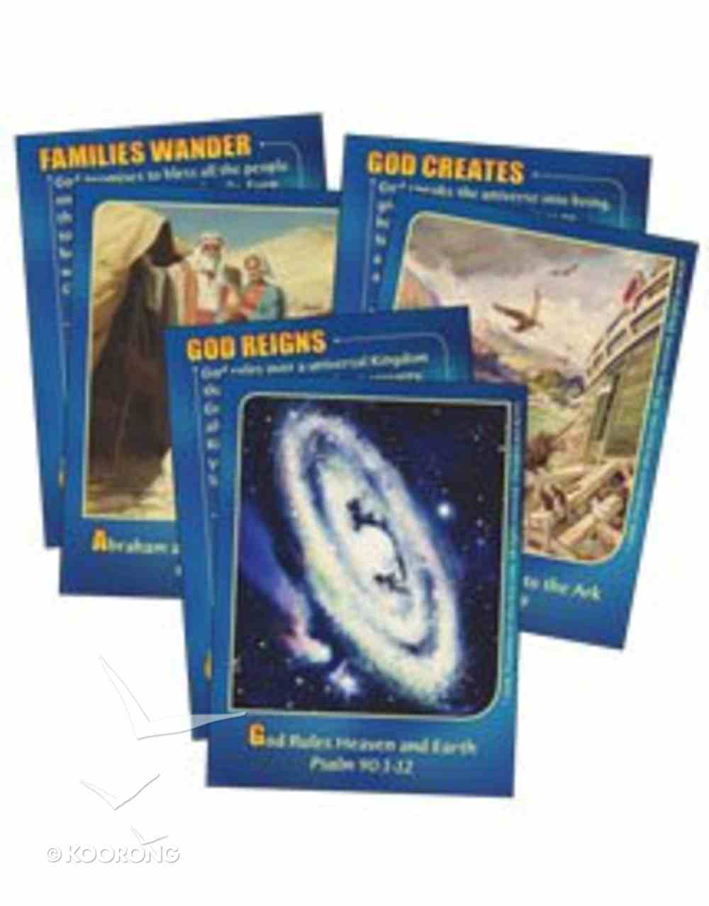 Dlc A5: Old Testament Champions Bible Cards Ages 9-11 (Discipleland Level 5, Ages 10-12, Qtrs Abcd Series) Pack