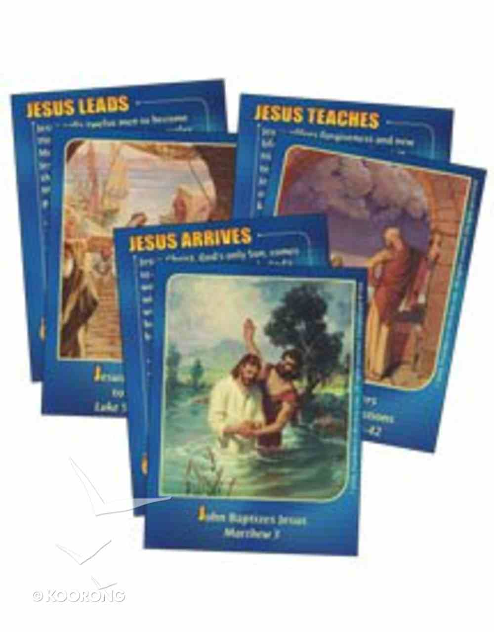 Dlc B5: New Testament Champions Bible Cards Ages 10-12 (Discipleland Level 5, Ages 10-12, Qtrs Abcd Series) Pack