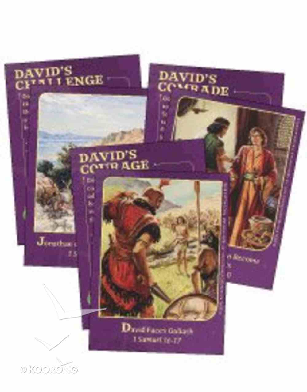 Dlc D6: Walking With God Bible Cards Ages 11-14 (After God's Own Heart) (Discipleland Level 6, Ages 11-14, Qtrs Abcd Series) Pack