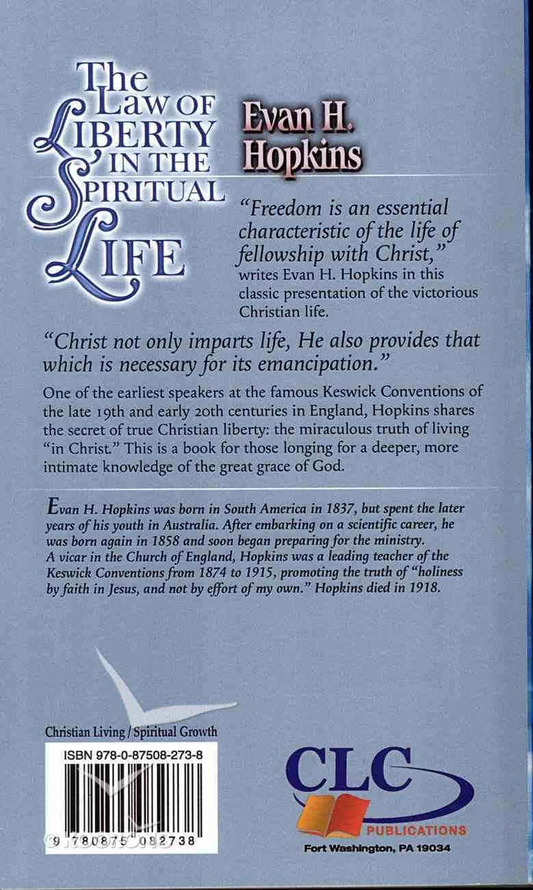 The Law of Liberty in the Spiritual Life Mass Market