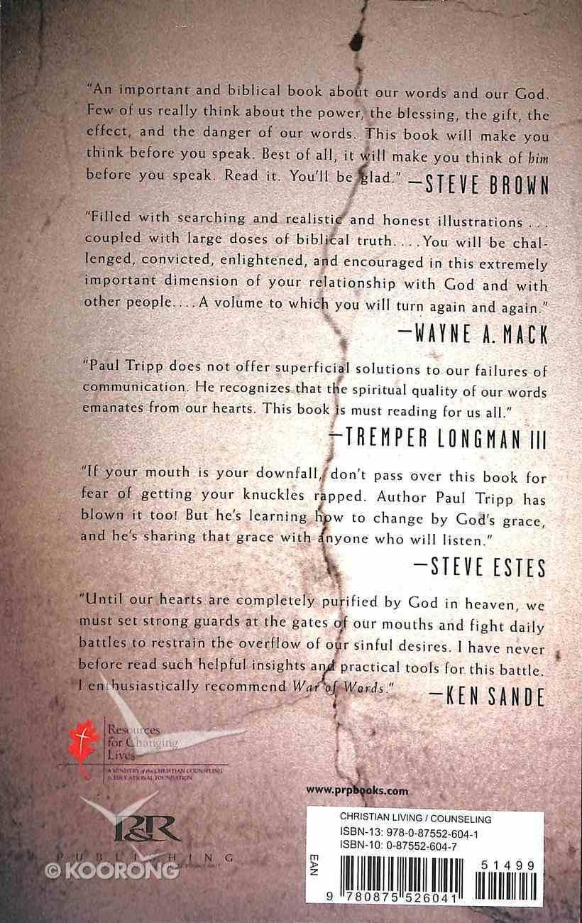 War of Words Paperback