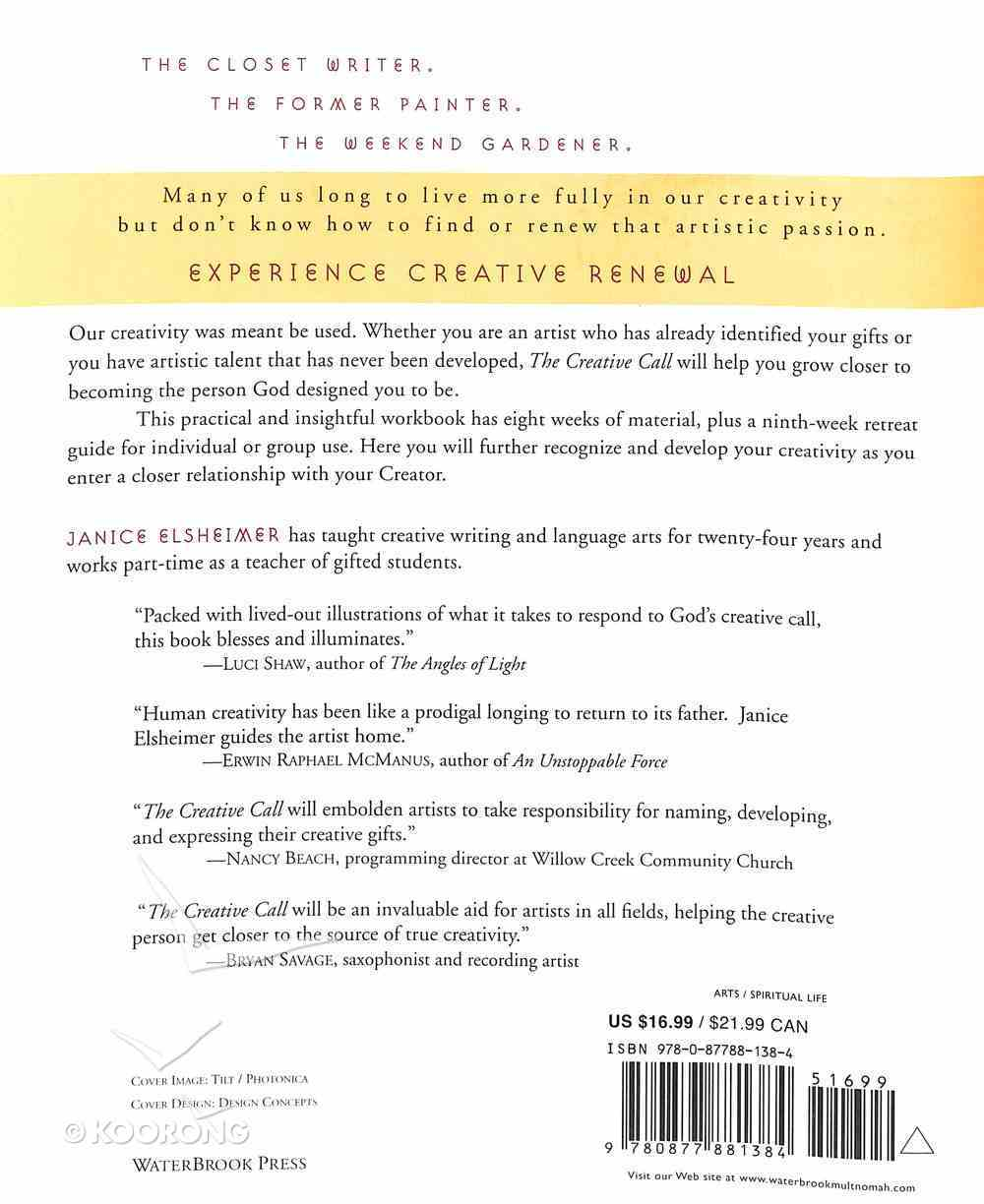 The Creative Call Paperback