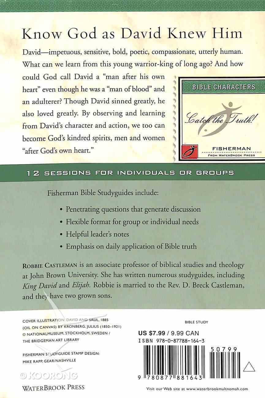 David, Man After God's Heart 1 (Fisherman Bible Studyguide Series) Paperback