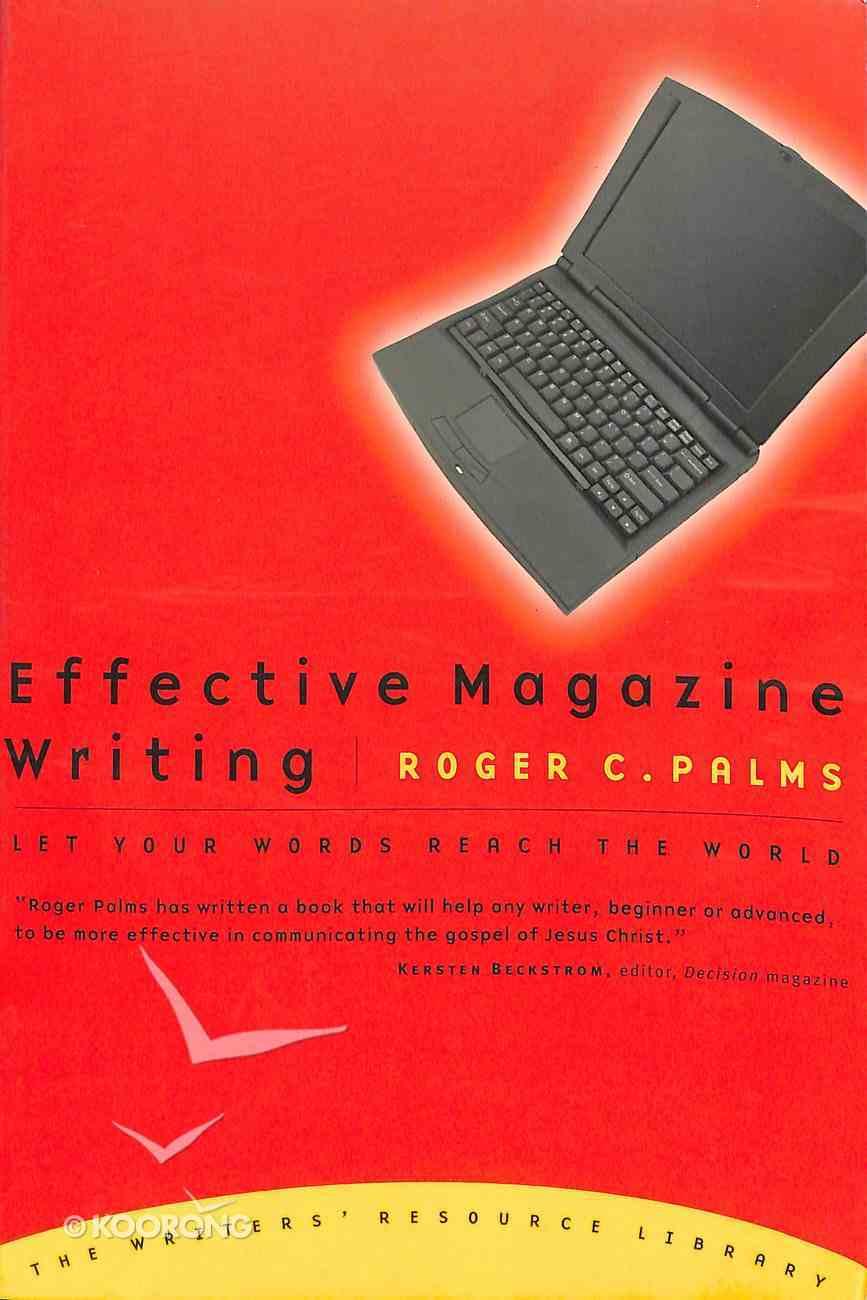 Effective Magazine Writing Paperback