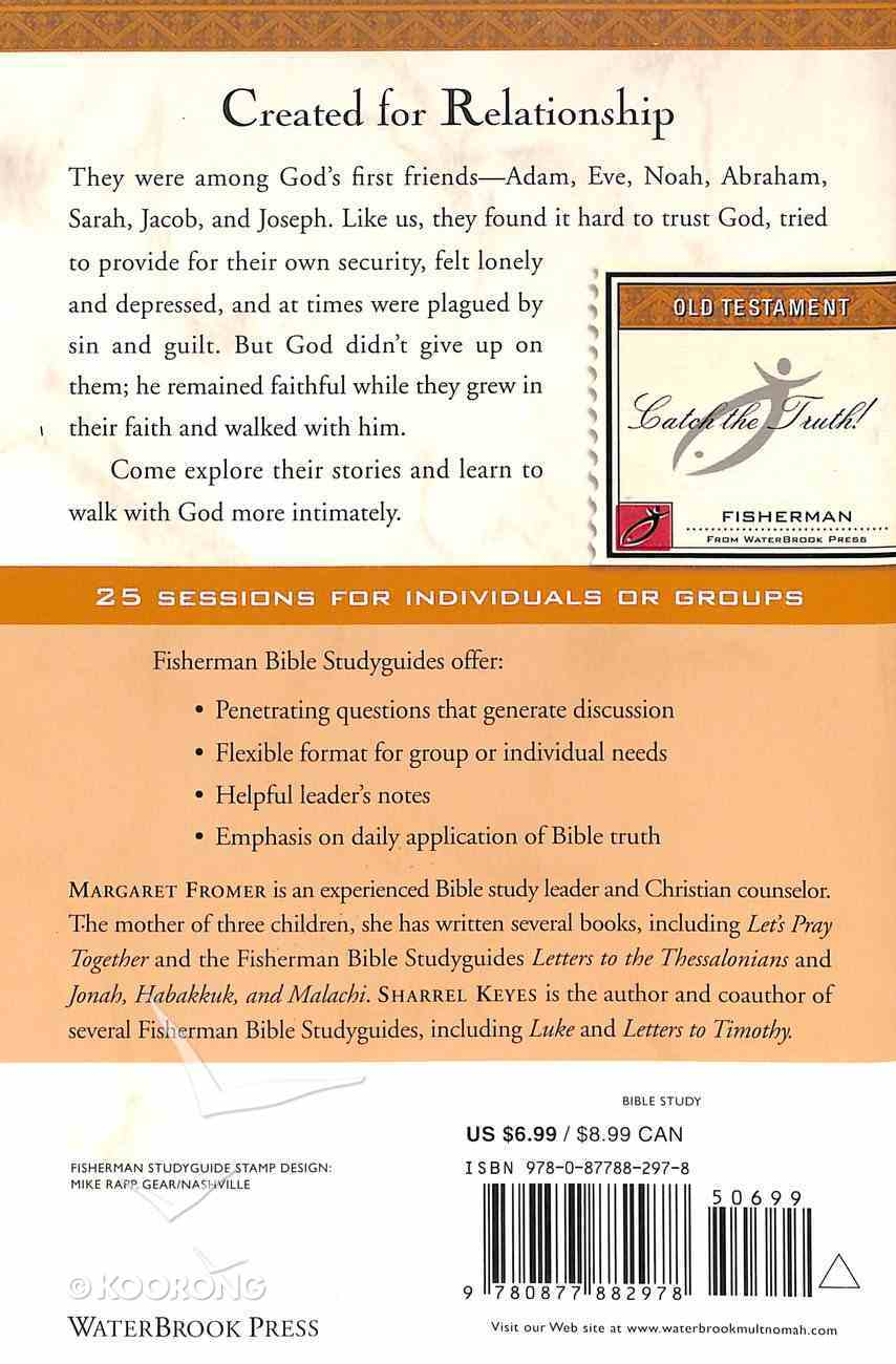 Genesis: Walking With God (Fisherman Bible Studyguide Series) Paperback