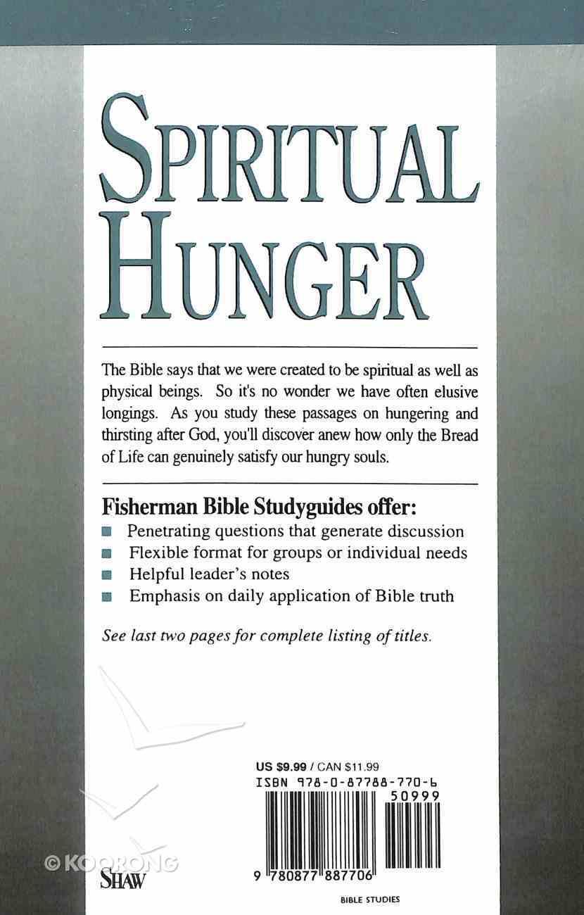 Spiritual Hunger Paperback