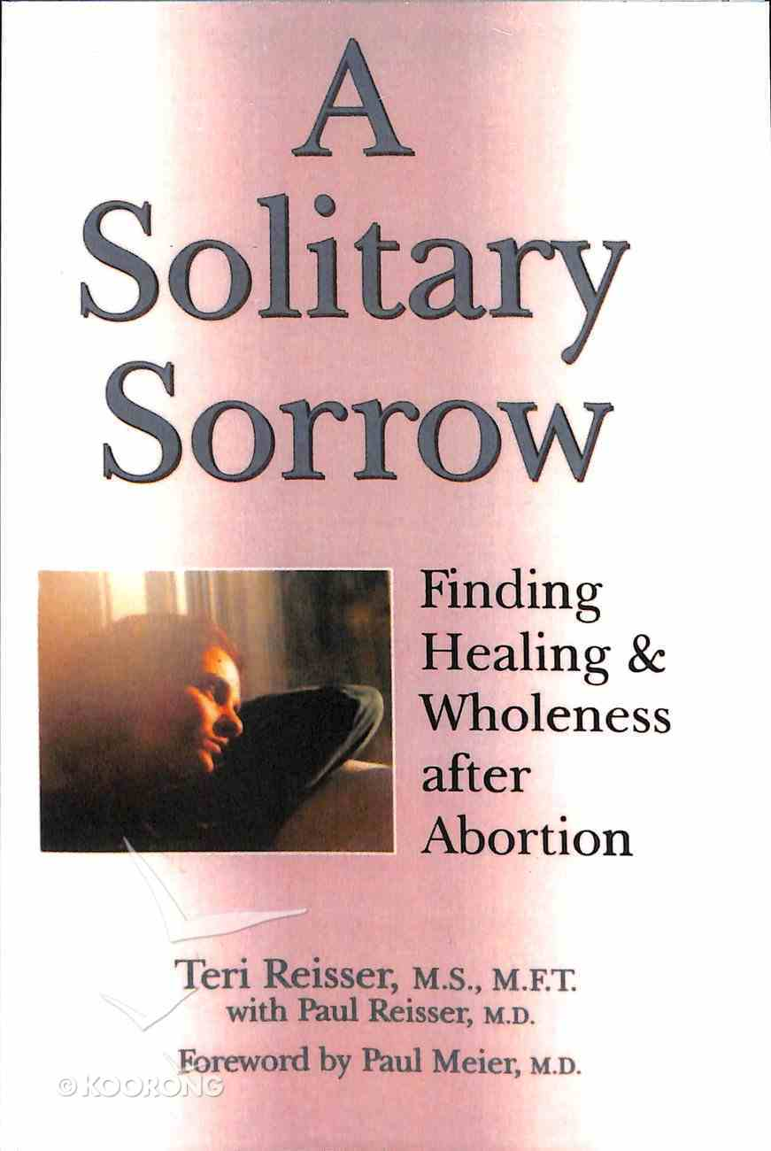 A Solitary Sorrow Paperback