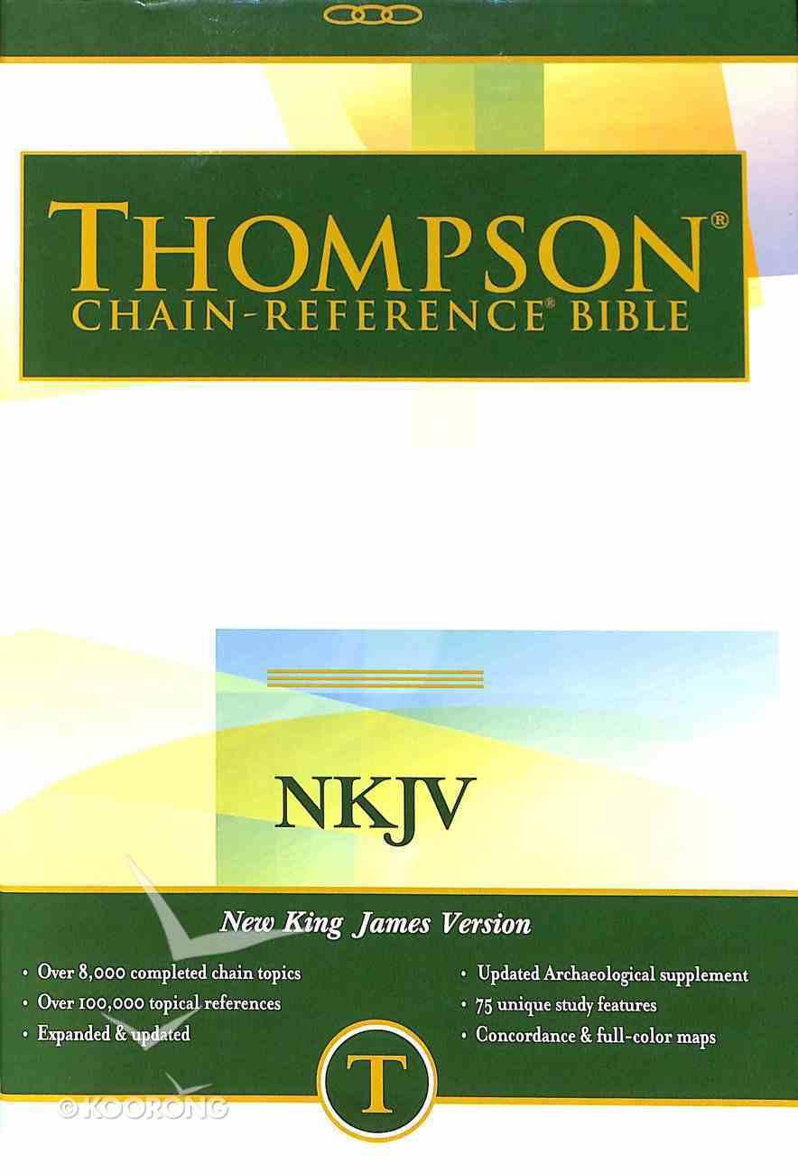NKJV Thompson Chain Reference Bible Hardback