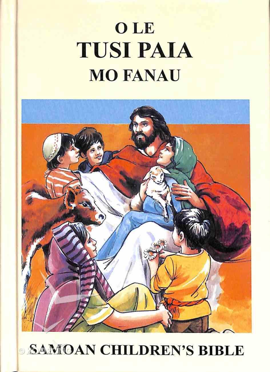Samoan Children's Revised Bible Hardback