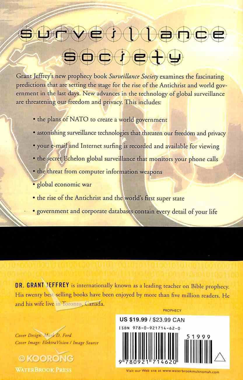 Surveillance Society Paperback