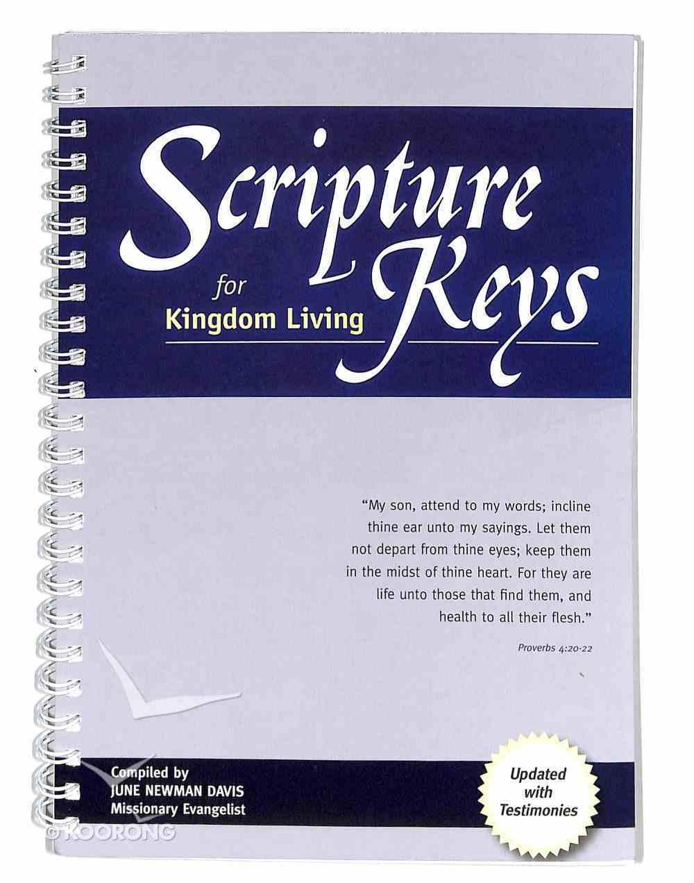 Scripture Keys For Kingdom Living Spiral
