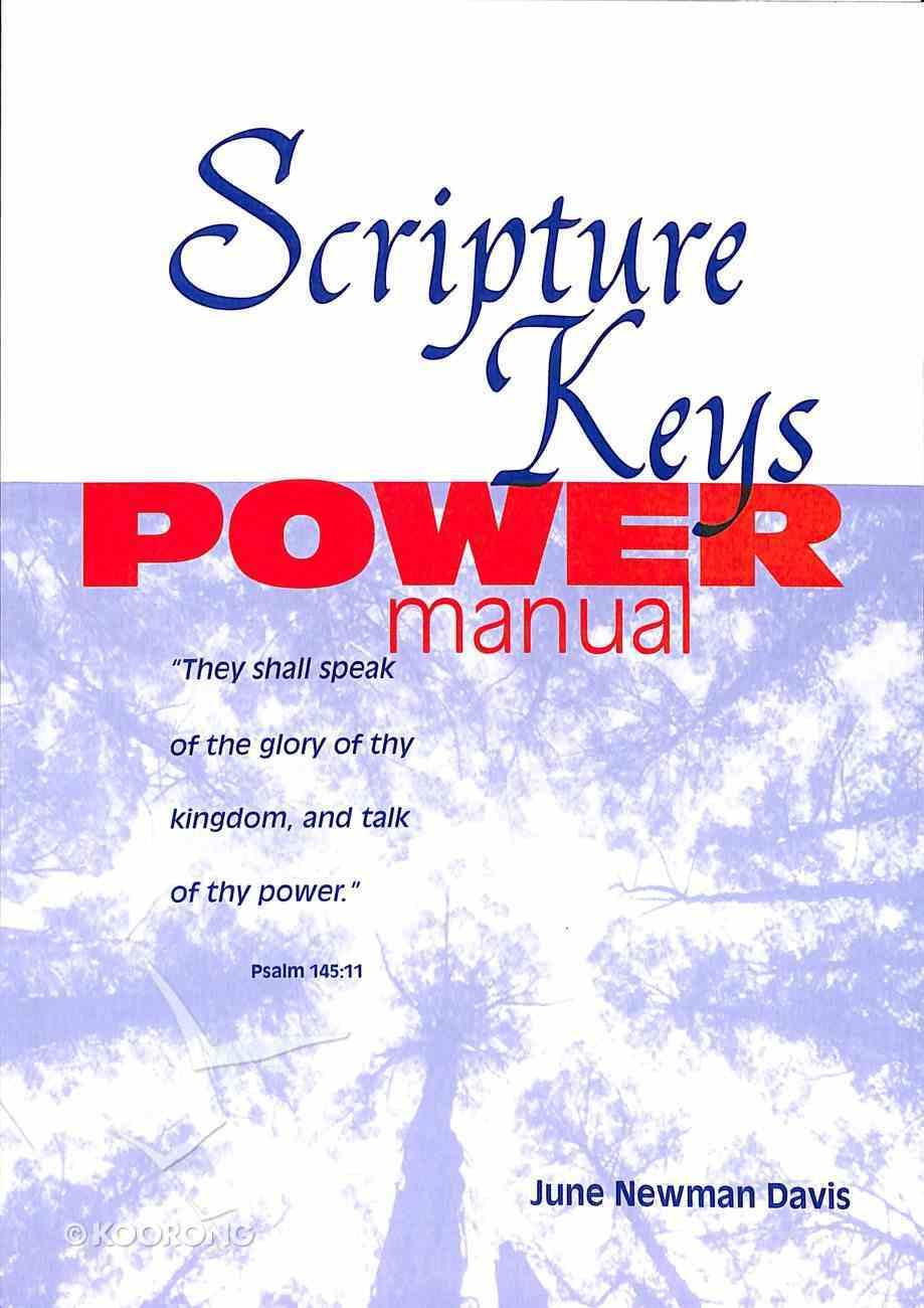 Scripture Keys Power Manual Paperback