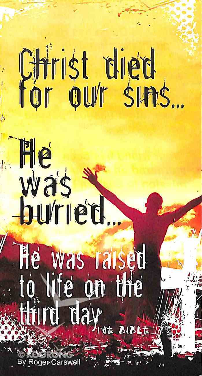 Christ Dies For Our Sins... Booklet