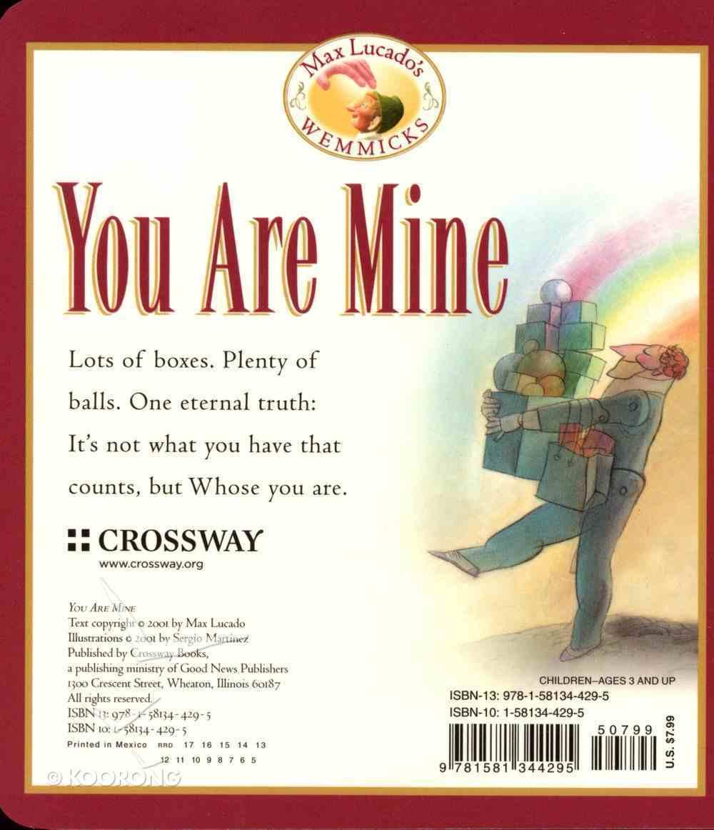You Are Mine (Board Book) Board Book