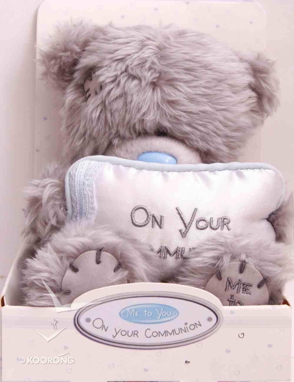 Plush Bear on Your Communion Homeware
