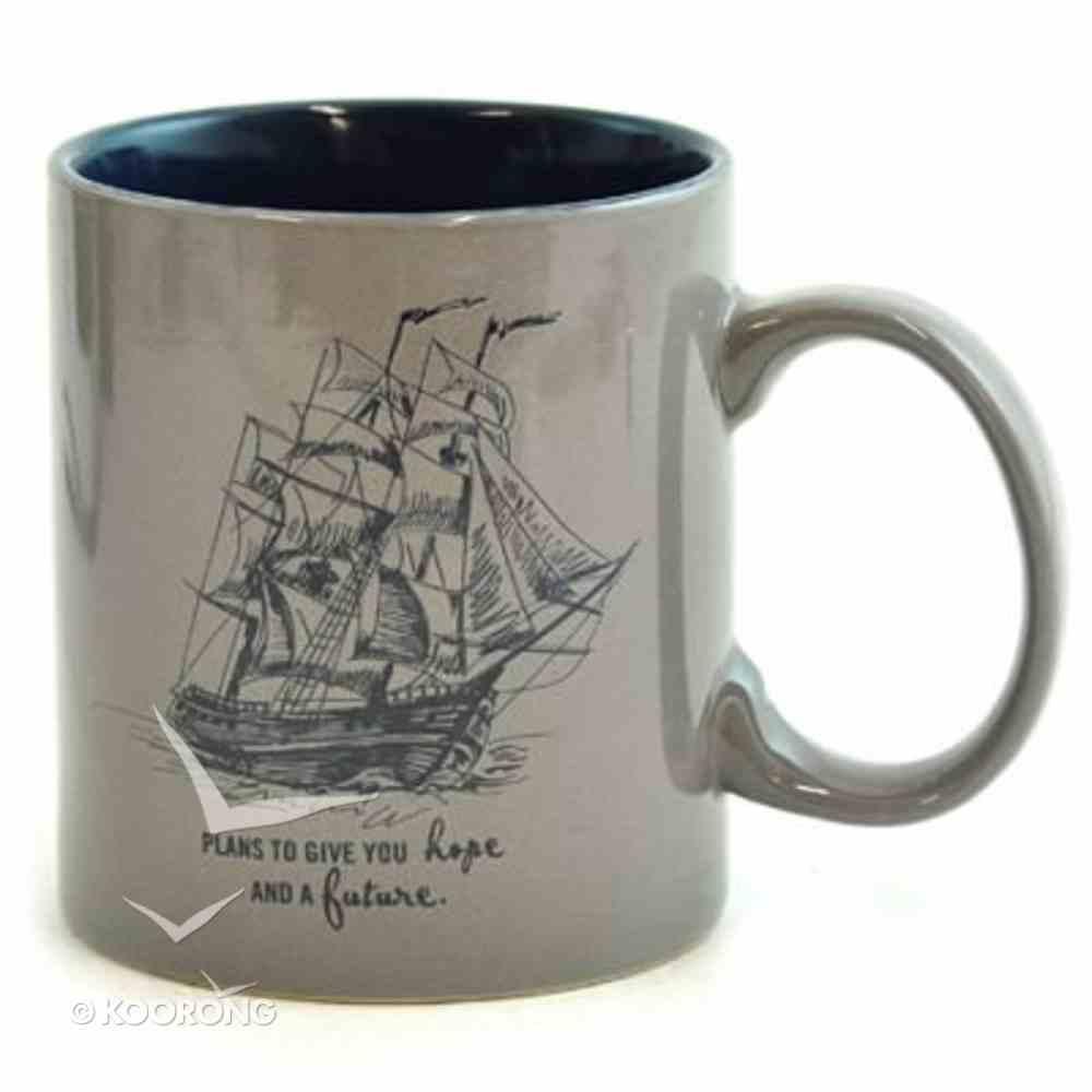 Stoneware Mug: For I Know the Plans I Have For You, Ship Homeware