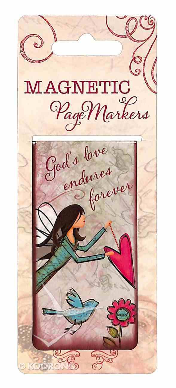 Bookmark Magnetic Large: God's Love Endures Forever Stationery