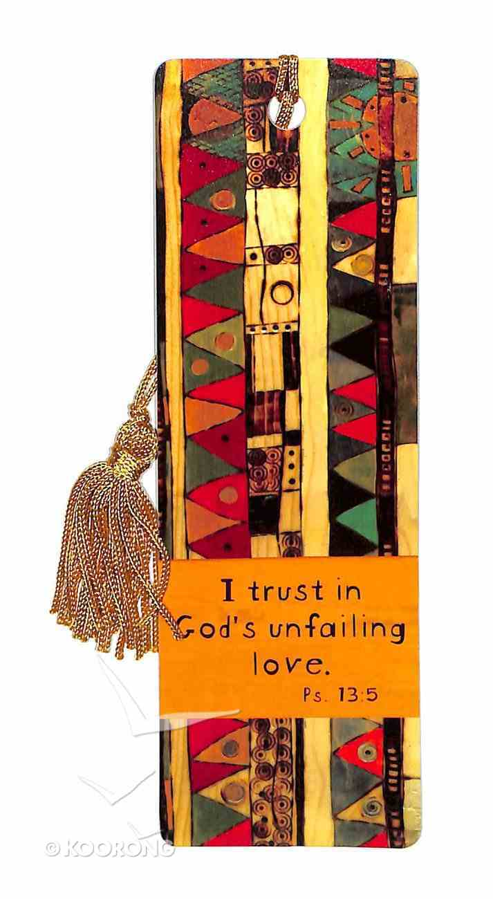 Bookmark With Tassel: Trust in God's Unfailing Love Stationery