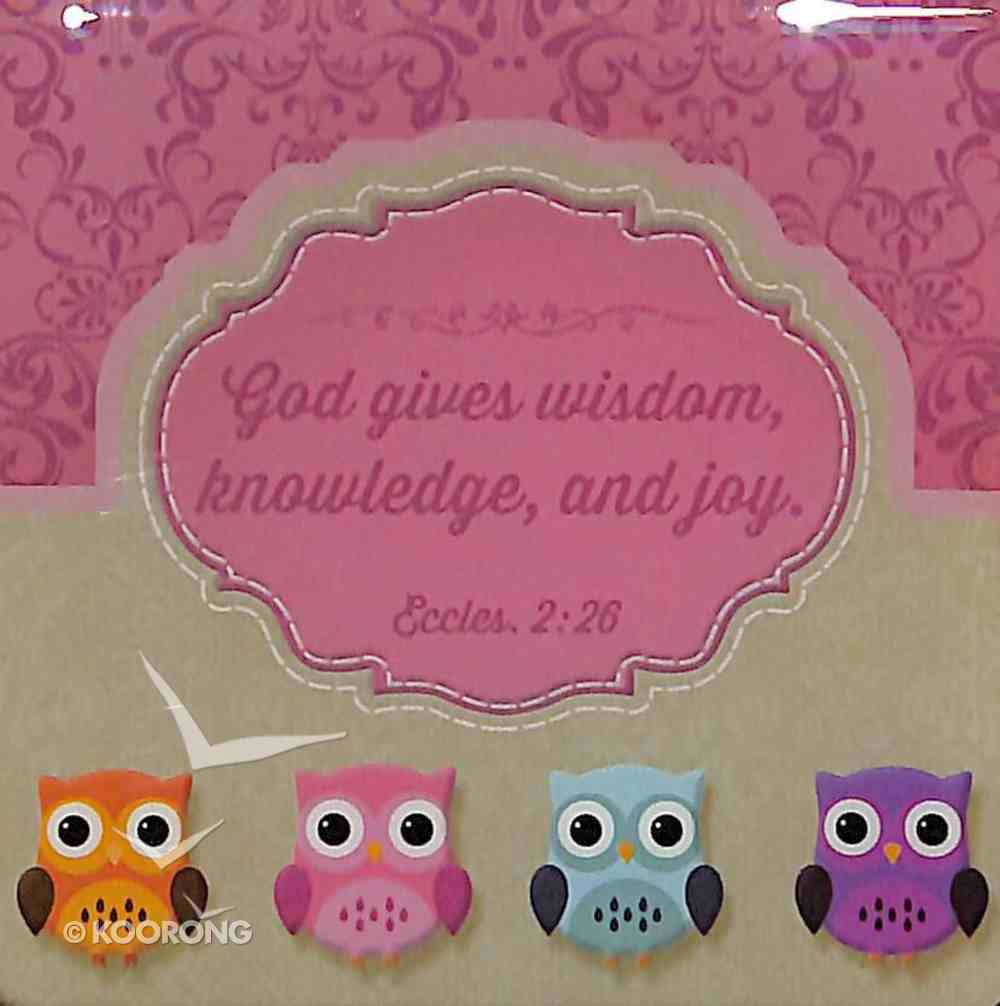 Meaningful Magnet Owl: Wisdom For the Soul Novelty