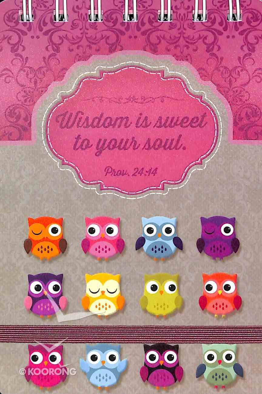 Wirebound Notepad Owl: Wisdom For the Soul Spiral