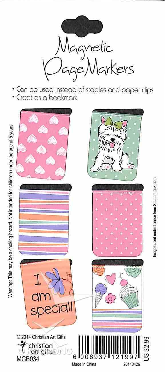 Bookmark Magnetic: Holly & Hope (Set Of 6) Stationery