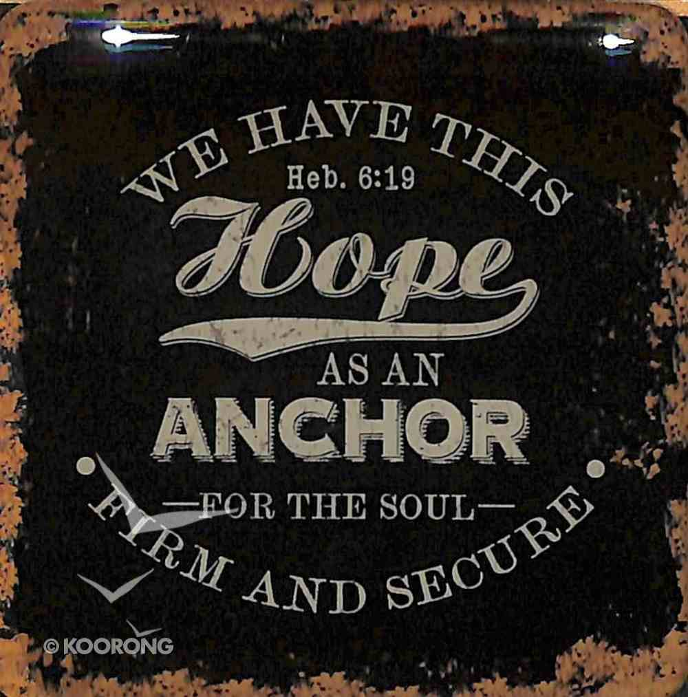 Meaningful Magnet: Finishing Strong - We Have This Hope, Black Novelty