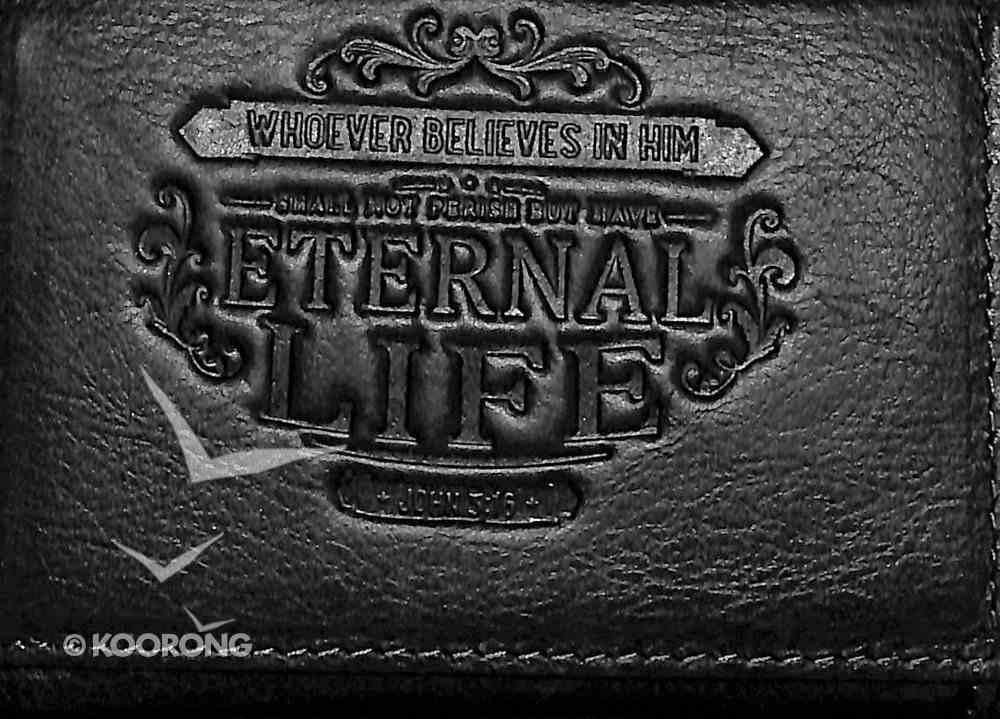 Men's Genuine Leather Wallet: Eternal Life Soft Goods