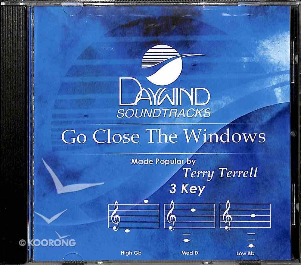 Go Close the Windows CD