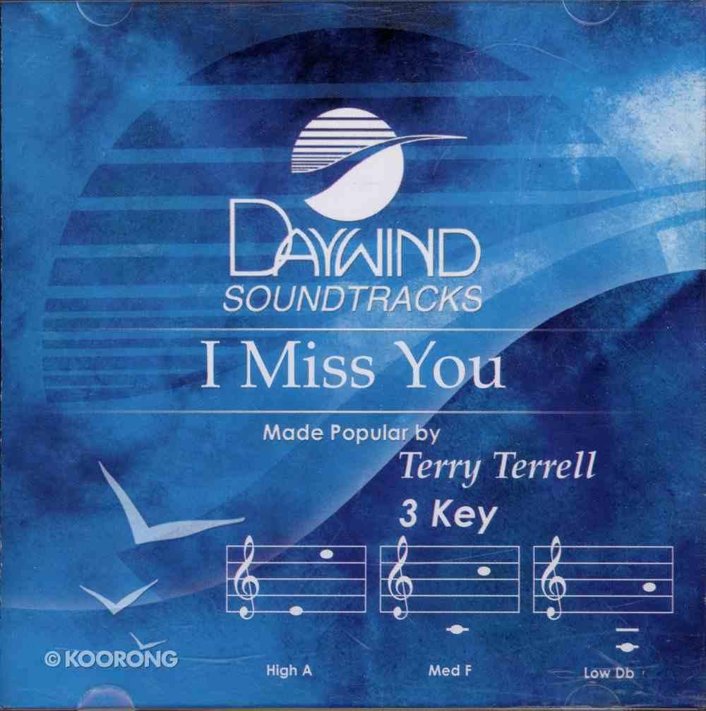 I Miss You CD