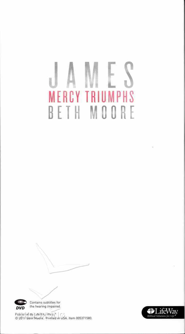 James (6 Dvds): Mercy Triumphs (DVD Only Set) (Beth Moore Bible Study Series) DVD