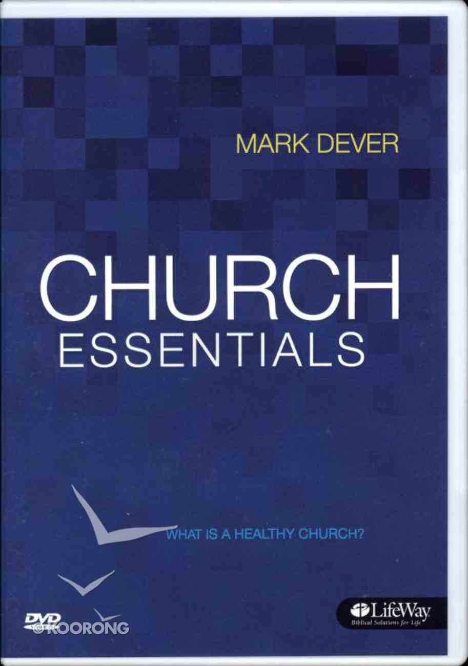 Church Essentials: What is a Healthy Church? (Dvd Only Set) DVD