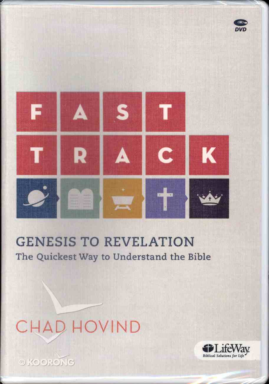 Fast Track: Genesis to Revelation (Dvd Set Only) Pack