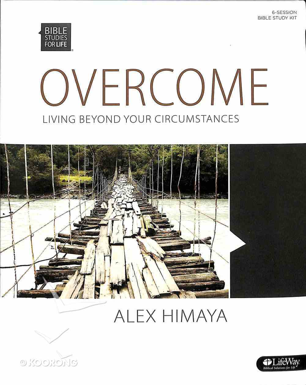 Overcome - Living Beyond Your Circumstances (Leader Kit) (Bible Studies For Life Series) Pack
