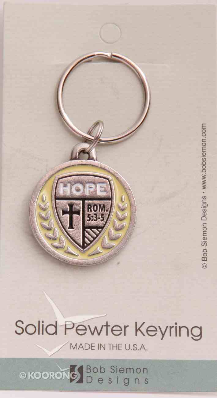 Keyring: Medals of Hope: Hope (Lead Free Pewter) Jewellery