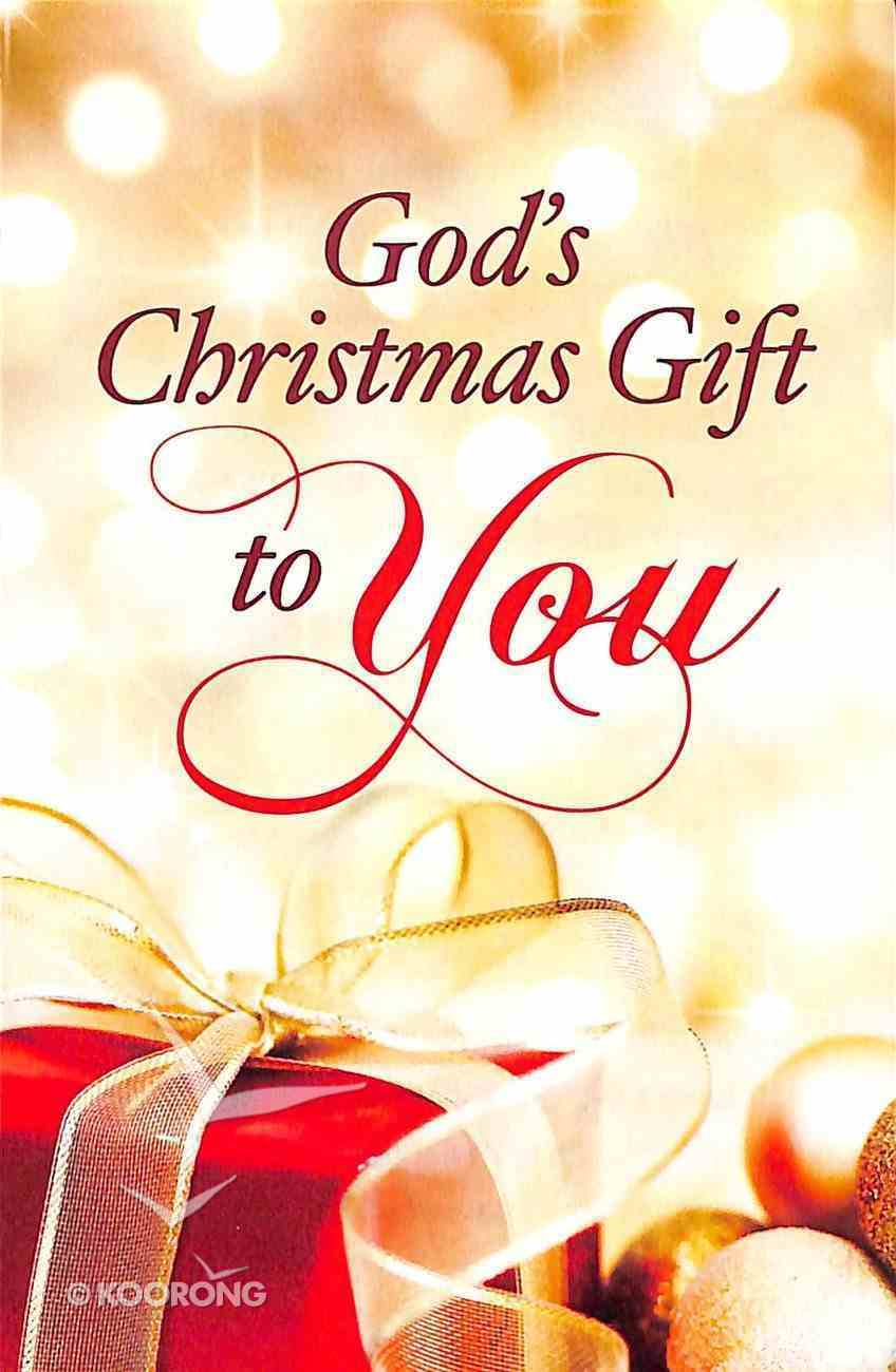 God's Christmas Gift to You (Pack Of 25) Booklet