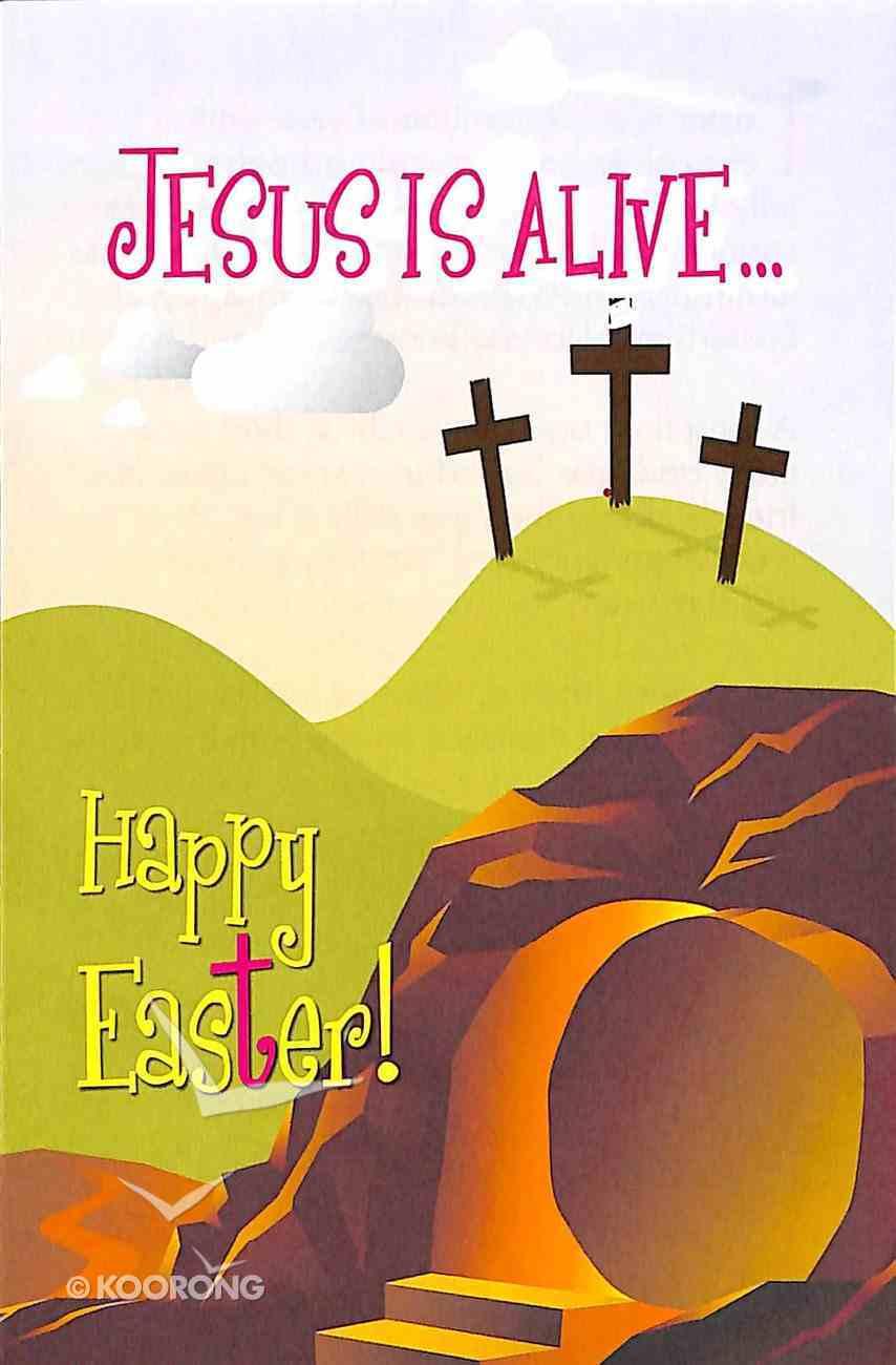 Jesus is Alive... Happy Easter! (ERV) (25 Pack) Booklet