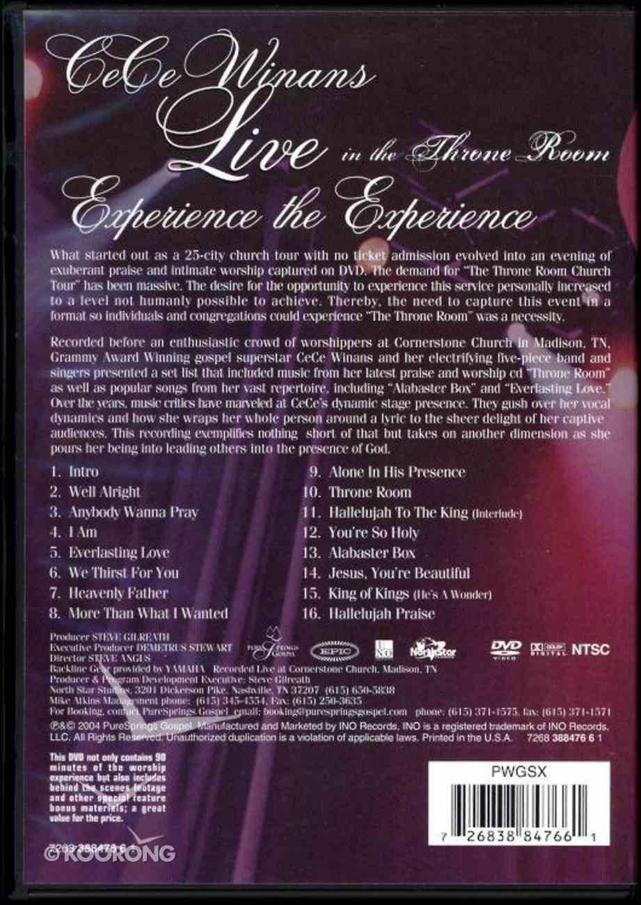 Live in the Throne Room DVD